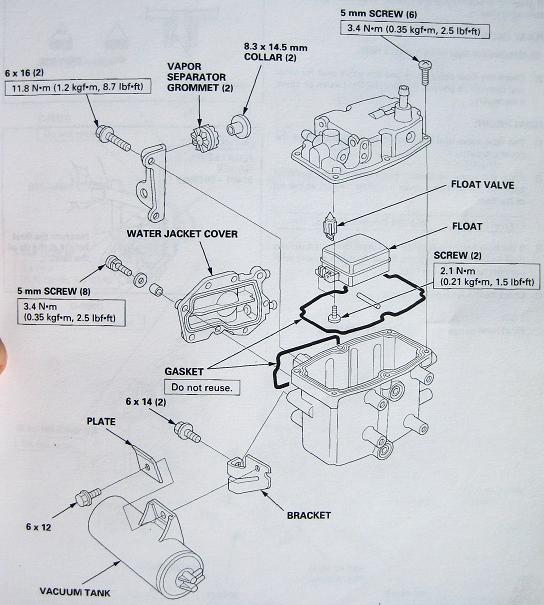 honda bf225 high-pressure fuel filter problems  ethanol  aluminum   page  1